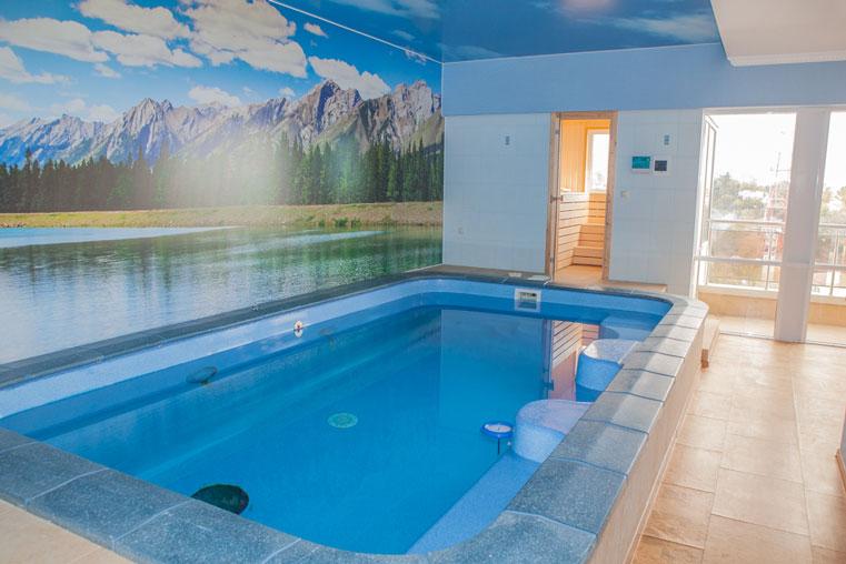 бассейн в квартире