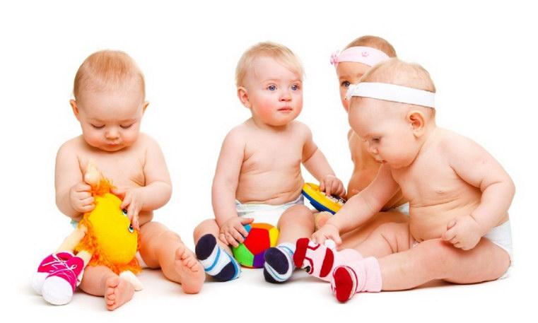 фото дети до года как выглядят