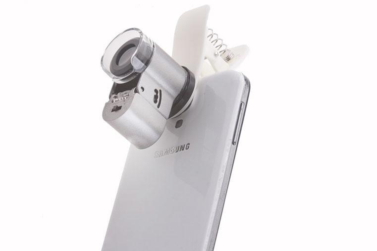 насадка микроскоп для смартфона самсунг
