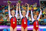 Медальный зачет на первых Европейских играх возглавила сборная России