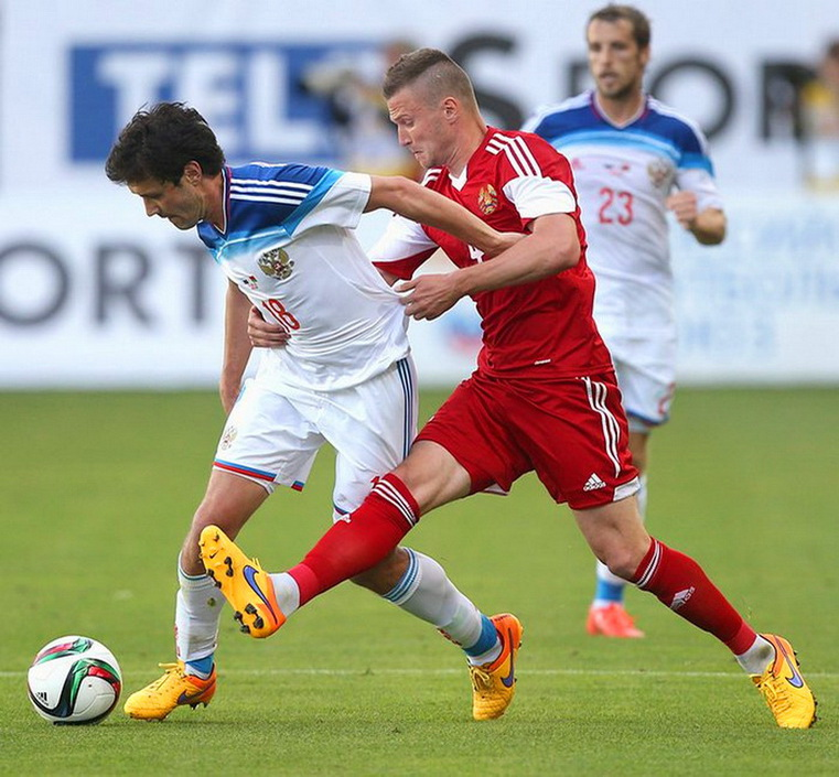 россия - белоруссия футбол товарищеский матч