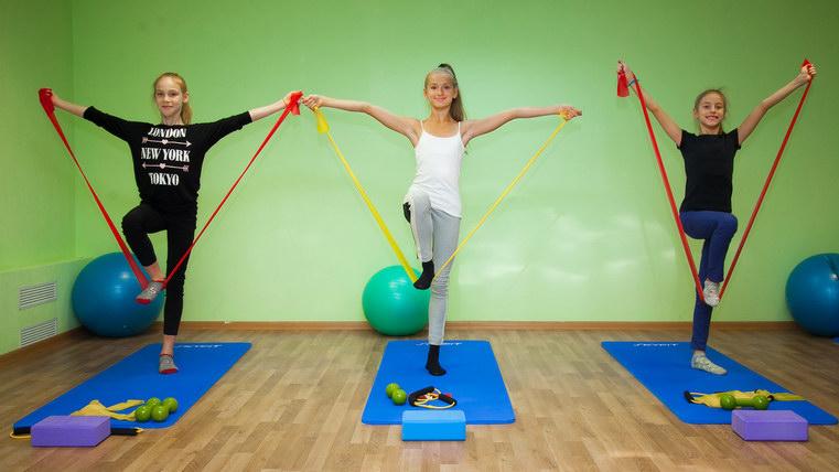 занятия физкультурой у детей