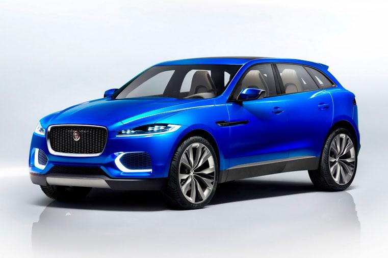 новый быстрый классный английский Jaguar-F-Pace