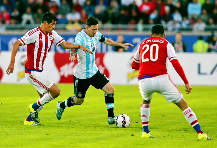 аргентина парагвай футбол кубок америки 2015