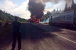 Серьезная авария под Красноярском 22-07-2015