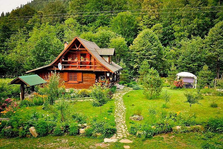 большой дом в румынии