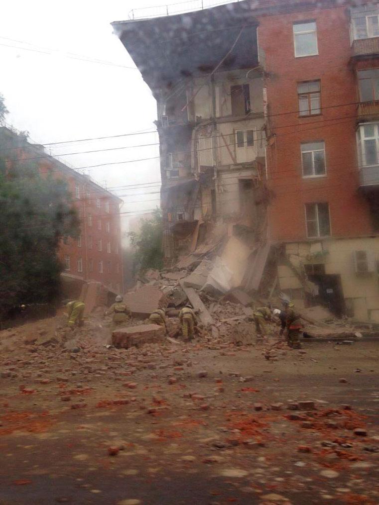 обрушение дома в перми на куйбышева