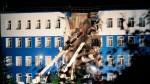 Обрушение казармы в Омске 12-07-2015