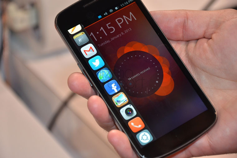 смартфон на линукс из китая с юбунту