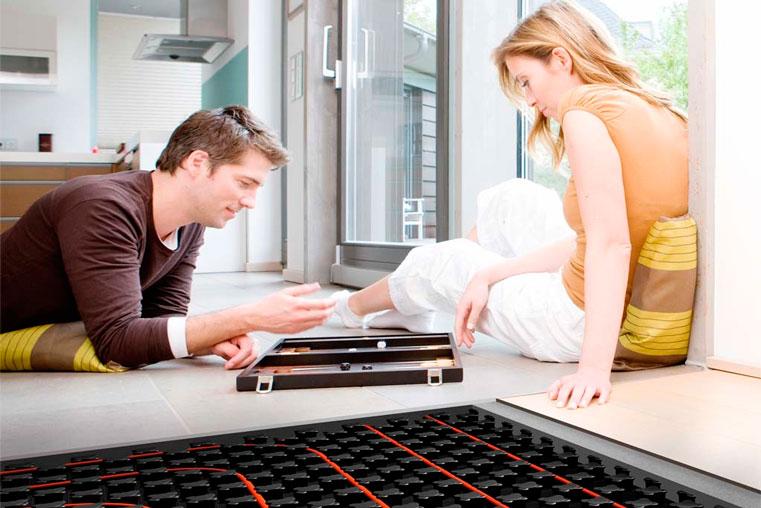 теплый пол в вашей квартире
