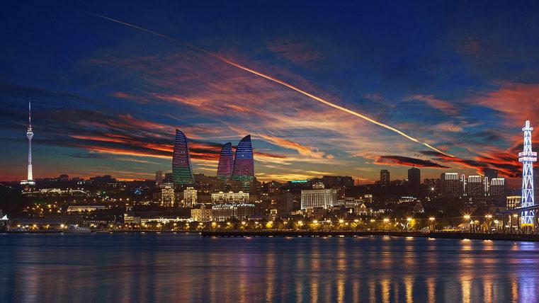 Баку - сказочный город