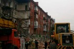 В Перми произошло обрушение жилого дома по улице Куйбышева