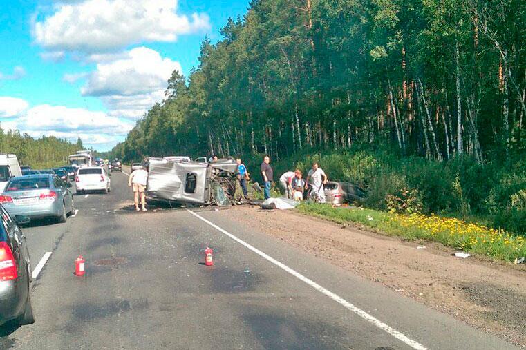 авария на киевском шоссе фото