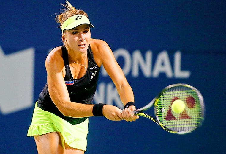 белинда бенчич теннис турнир WTA в торонто