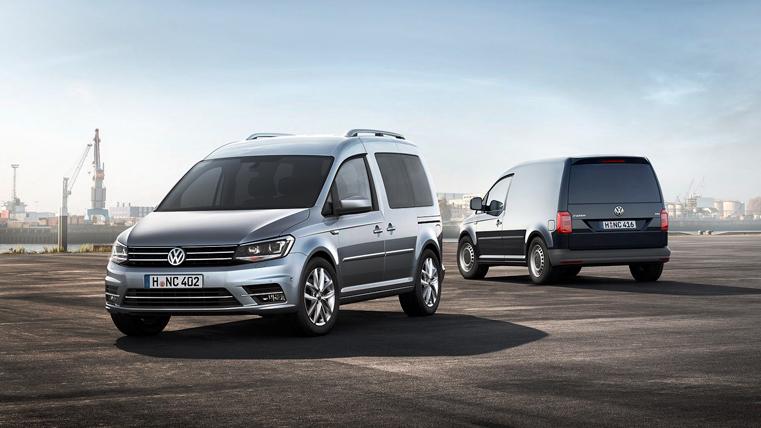 Фургон Caddy от Volkswagen получил обновления