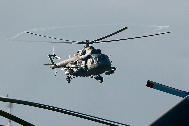 упал вертолет в хабаровске