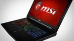 Компания MSI показала мощнеший игровой ноутбук
