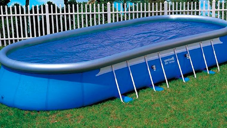 Купание зимой в надувном бассейне теперь реальность