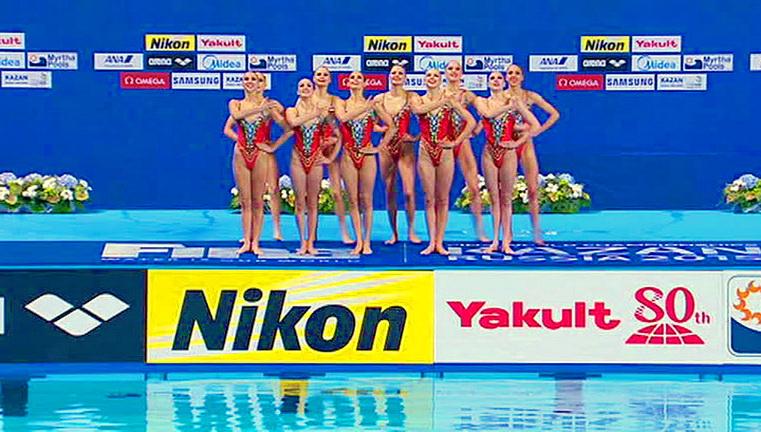 сборная россии чм по водным видам спорта 2015