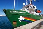 С России могут взыскать компенсацию за акцию Greenpeace
