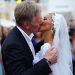 Свадьба Навки и Пескова, фото