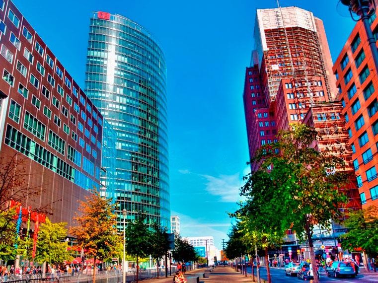 фото площадь в берлине постдарм