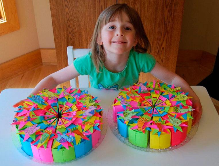 Подарки своими руками на день рождения детям