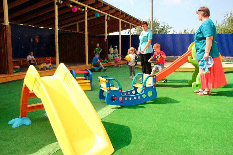 частный детский сад у вас дома фото