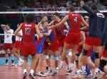 Сборная РФ по волейболу празднует очередную победу