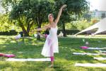 Российская балерина Лилия Сковородникова снялась в рекламе бренда Intimissimi