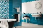 Кафельная плитка стала самым популярным материалом для отделки ванной комнаты