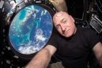 Скот Келли побил рекорд США по пребыванию в космосе