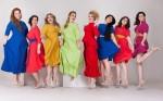 Модели Plus size продемонстрировали коллекцию La Redoute на московском подиуме