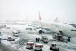Пекинский аэропорт перестал работать из-за снегопада
