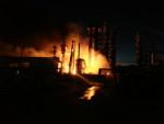 Авария на Ачинском НПЗ привела к пожару