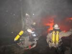 Возгорание на складе, где хранились изделия из резины, полностью локализовано