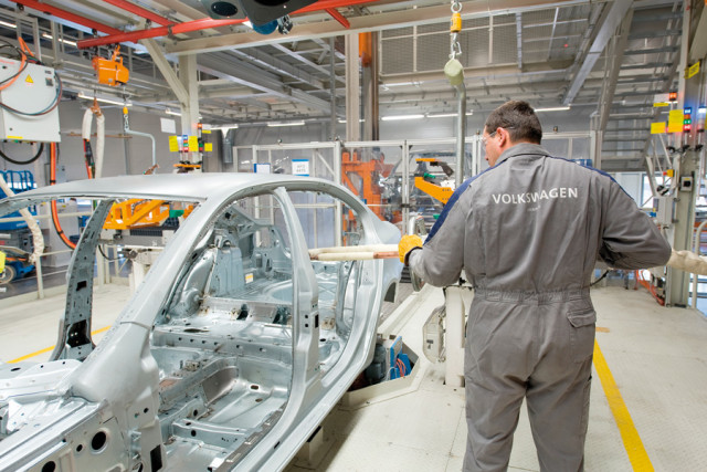 Volkswagen Werk Kaluga, Russland