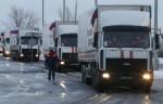 Очередные колонны помощи от МЧС России доставлено на восток Украины