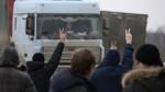 Дальнобойщики Санкт-Петербурга отправляются в Москву