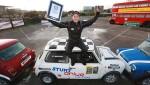 Британец побил свой мировой рекорд по экстремальной парковке