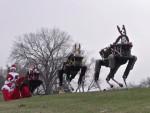 Google представил жутковатых рождественских роботов
