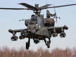 Учебный полёт американского вертолёта Apache завершился авиакатастрофой