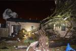 Число пострадавших от сильного торнадо в штате Техас возросло