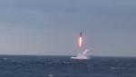 Северный флот запустил ракету «Синева»
