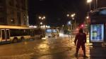 Одна из площадей Петербурга «ушла под воду»