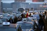 В Париже бастуют таксисты