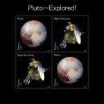 Почта США представляет памятные марки в честь космических открытий