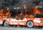 Обитатель Китая поджег автобус из-за вспышки мести