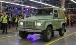 Land Rover Defender завершает почти семидесятилетнюю историю