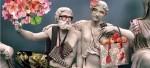 Скульптуры Парфенона одели в Gucci